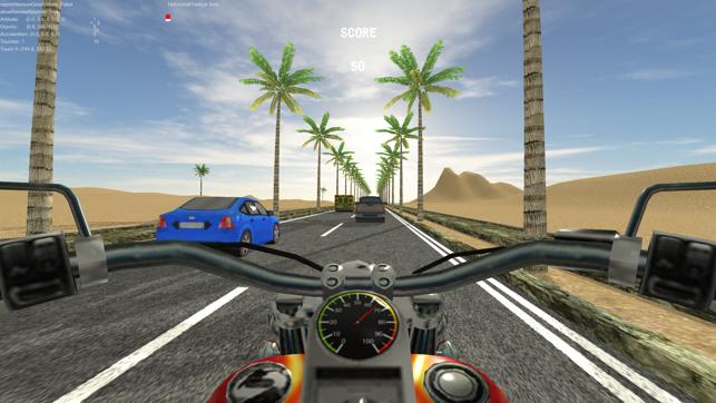 Biker Run, game for IOS