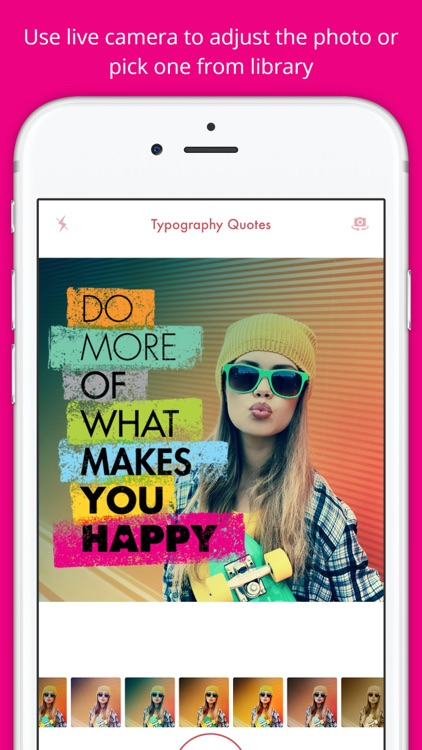 Typography Quotes -motivational sayings for photos