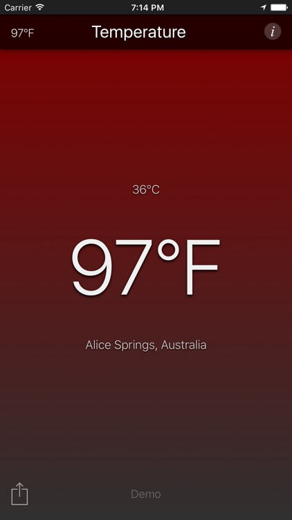 Temperature App screenshot-3