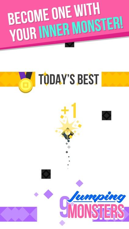 Jumping Monster Amazing Arcade Game screenshot-3