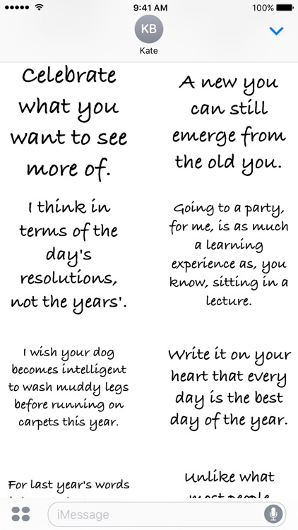 New Year Quotes - A to Z Stickers screenshot-4
