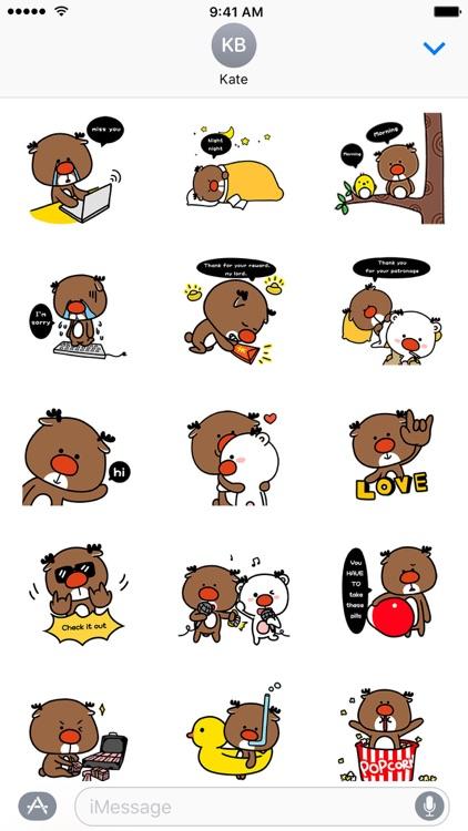 Deer Lucas and Deer Monroe Series − NHH Stickers