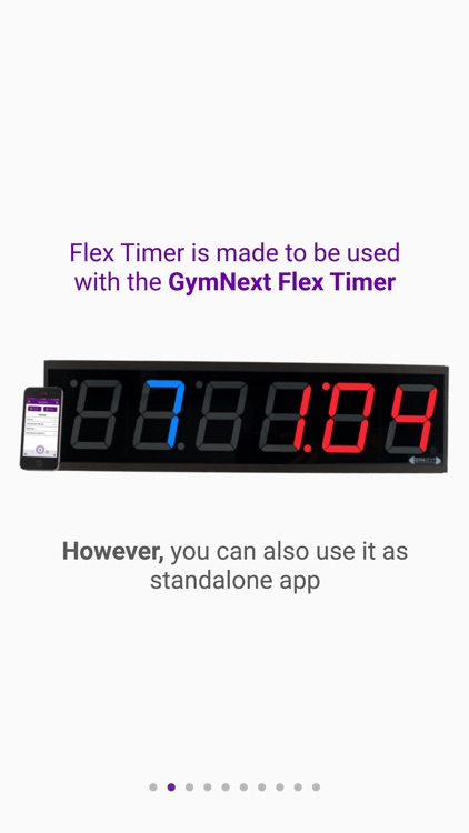 GymNext Flex Timer