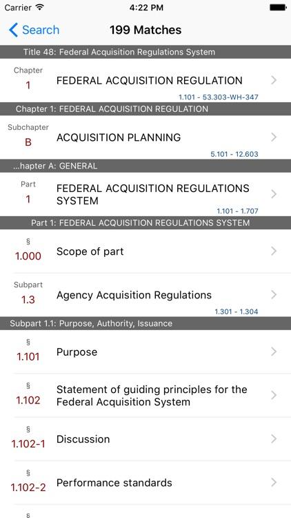 48 CFR - Fed Acquisition Reg System (LawStack Ser) screenshot-4
