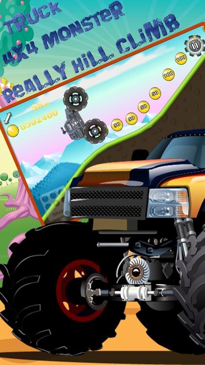 Really Hill Climb Upgrades 4X4 Monster Truck