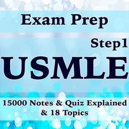 USMLE (Step1) Course & Exam Prep-15000 Flashcards Study Notes, Terms & Quizzes