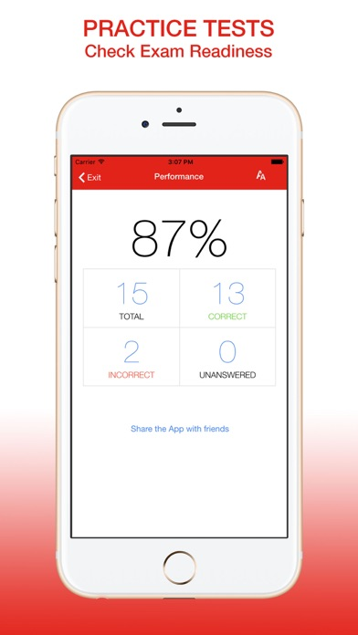 CompTIA Security+ SY0-401 Exam Prep app image