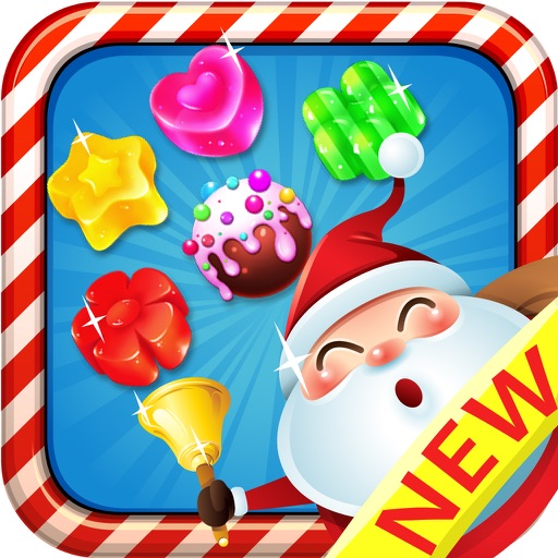 Sweet Santa Candy - New match 3 best game puzzle