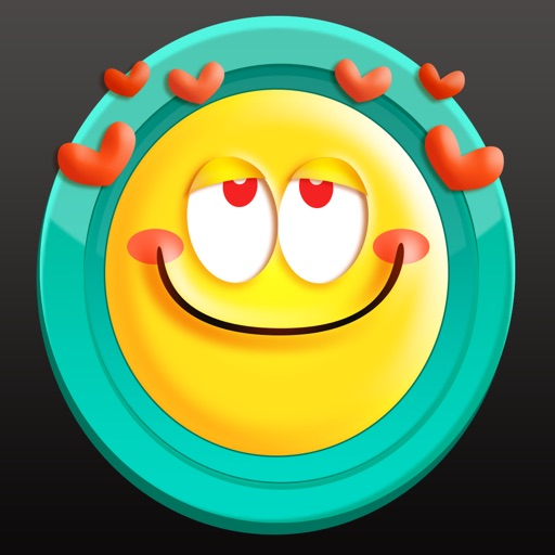 Yellow Smiley Emoji Stickers Gifs for iMessage