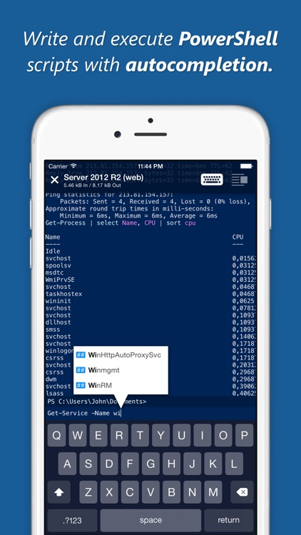 WinRM Pro screenshot-0