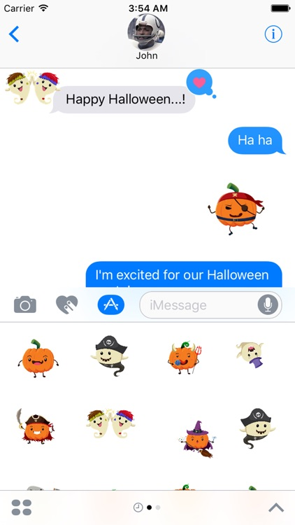 Halloween Funny - Sticker for iMessages