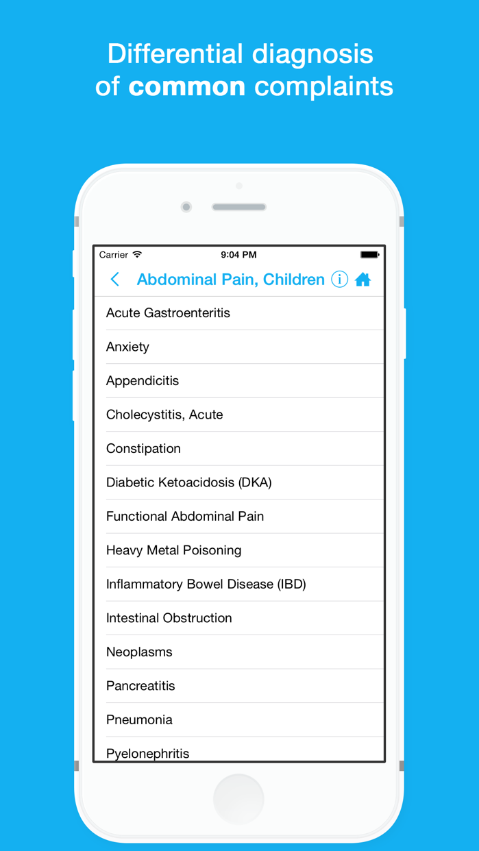Smart Medical Reference - Labs, Drugs and Calcs Screenshot