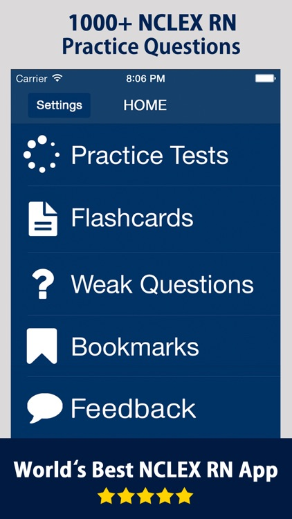 NCLEX-RN Practice Exam Prep screenshot-0