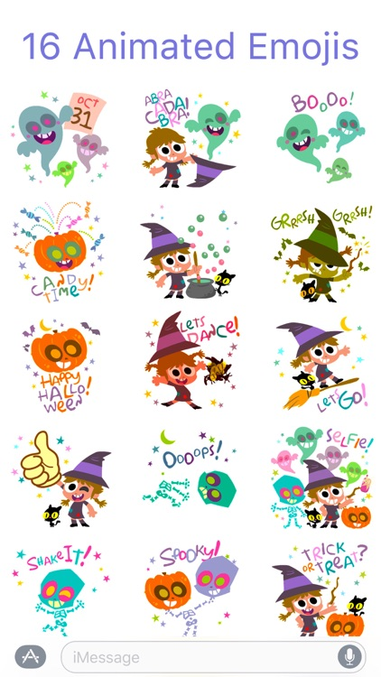 HallowMoji - Fun Halloween Emojis screenshot-2