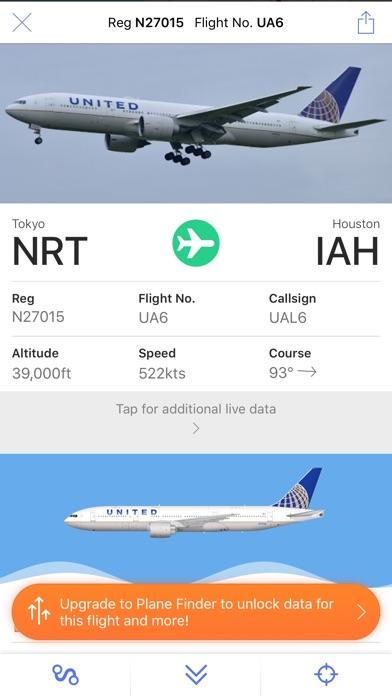 Plane Finder Lite review screenshots
