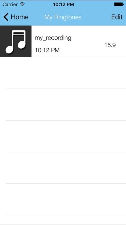 MP3 2 Ringtone screenshot-3