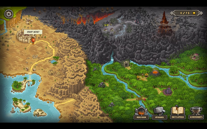 Kingdom Rush Frontiers HD Screenshot