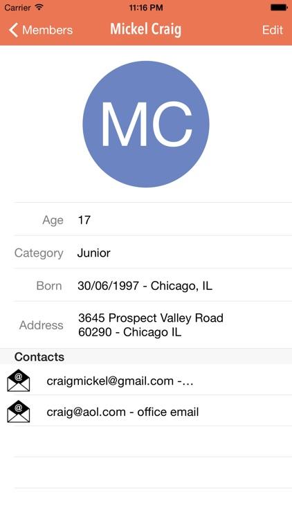 Sport Club Manager: Run your association screenshot-0
