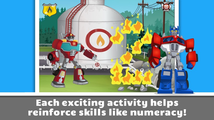 Transformers Rescue Bots: Save Griffin Rock
