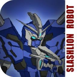 Lion Slashing: Iron Robot Simulator and Fighting
