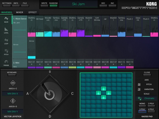 Screenshot #6 pour KORG iWAVESTATION