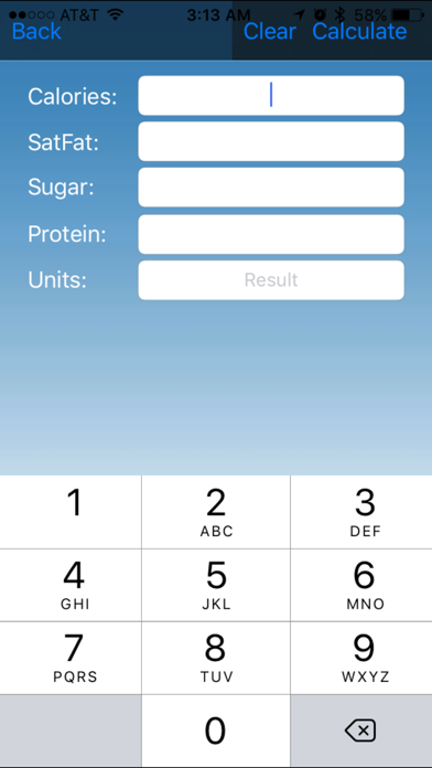 Smart Fast Food Calculator App review screenshots