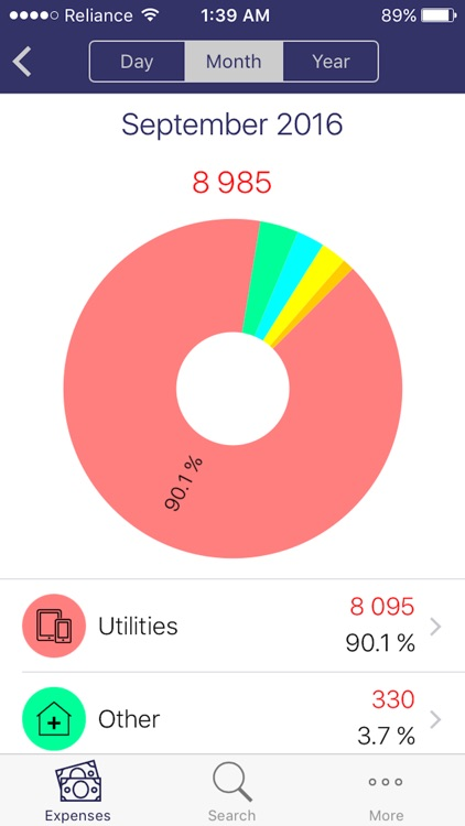 uSpend - Spending Tracker,Free Expense manager app