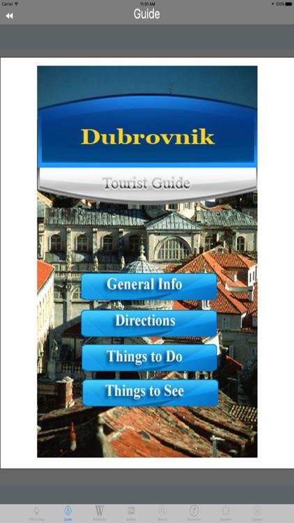 Dubrovnik Old City Croatia Tourist Travel Guide screenshot-3