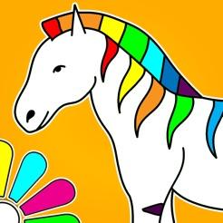 Ausmalbilder Für Kinder Malvorlagen Und Malbuch Im App Store