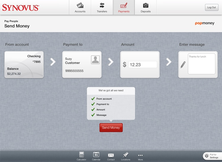 Synovus Mobile Banking for iPad screenshot-3