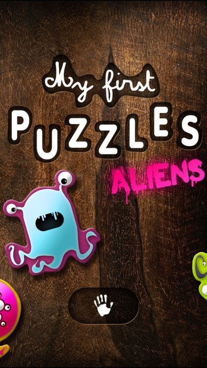 My first puzzles : Aliens screenshot-3