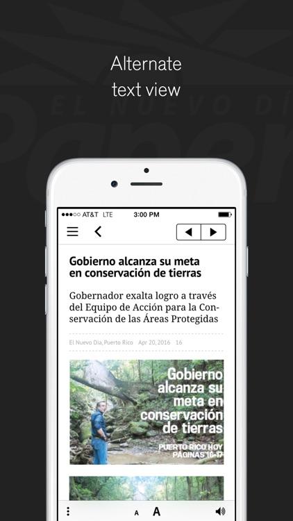 El Nuevo Día ePaper screenshot-4