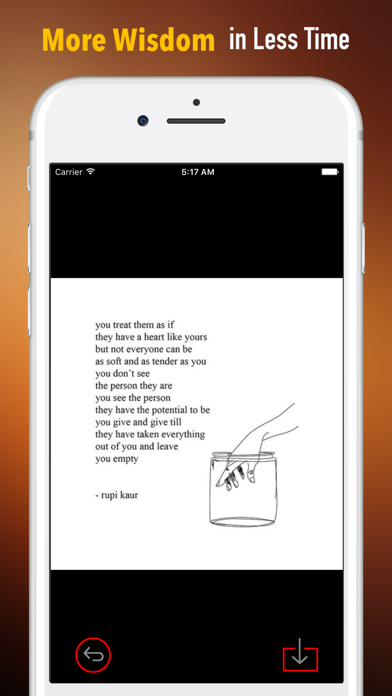 Quick Wisdom from Milk and Honey-Practical Guide screenshot one