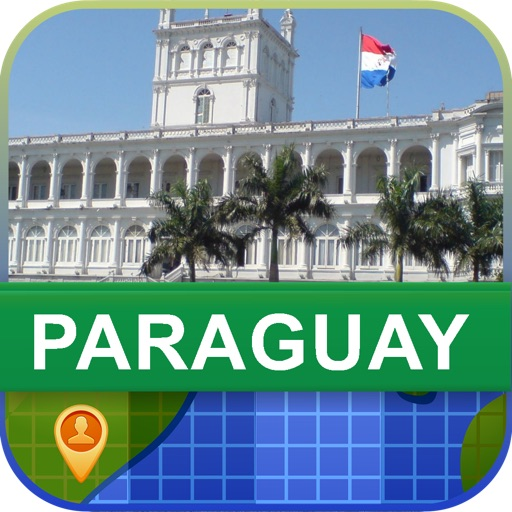 Offline Paraguay Map - World Offline Maps