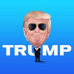 Trump Caricature Sticker Pack