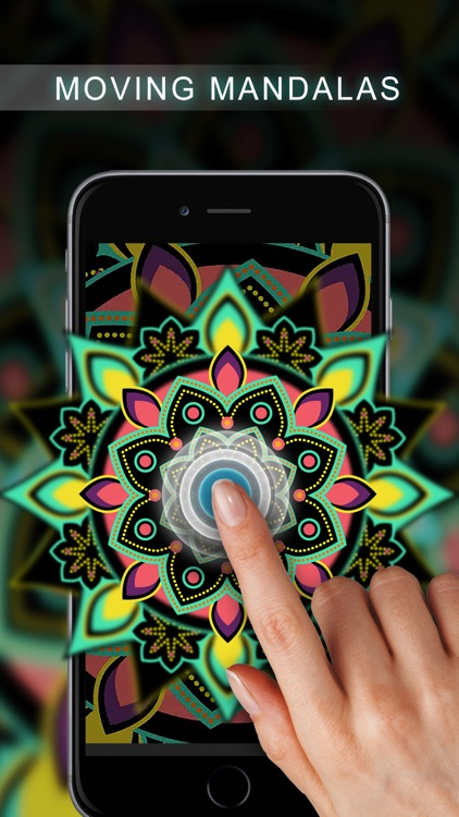 Live Mandala Wallpapers Free screenshot-0