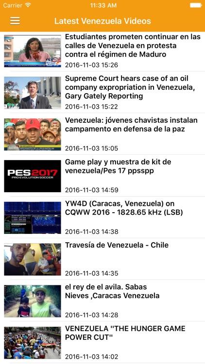 Venezuela News Today & Caracas Radio Free screenshot-4