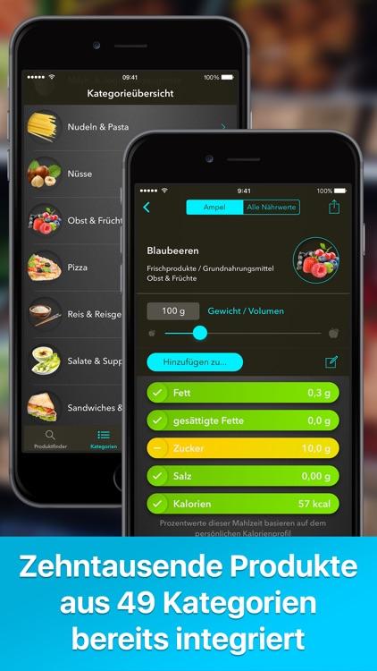 Lebensmittelampel + Kalorien screenshot-3