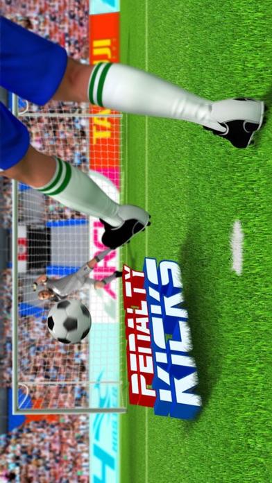 3D Soccer Penalty Final Flick