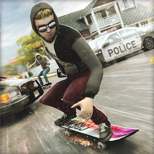 True Skateboarding Ride | Epic Skate Board 3D iOS App