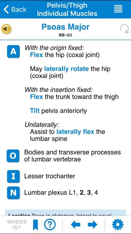 AMTA Massage Anatomy Guide screenshot-3