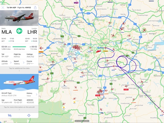 Plane Finder - Flight Tracker IPA Cracked for iOS Free Download