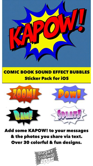 Ka-Pow! Comic Sound Effect BubblesScreenshot of 1