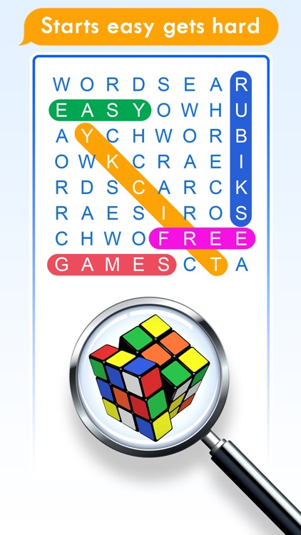 100 PICS Word Search Puzzles screenshot-3