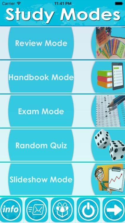 MTM Exam Review App - Study Notes, Quiz & concepts