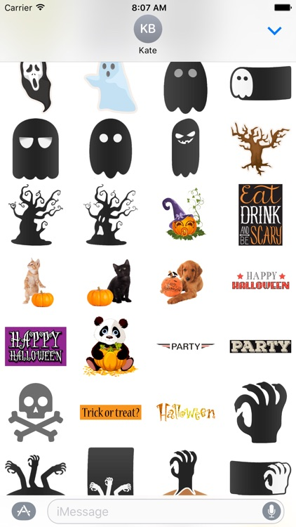 Halloween Stickers Pack! screenshot-3