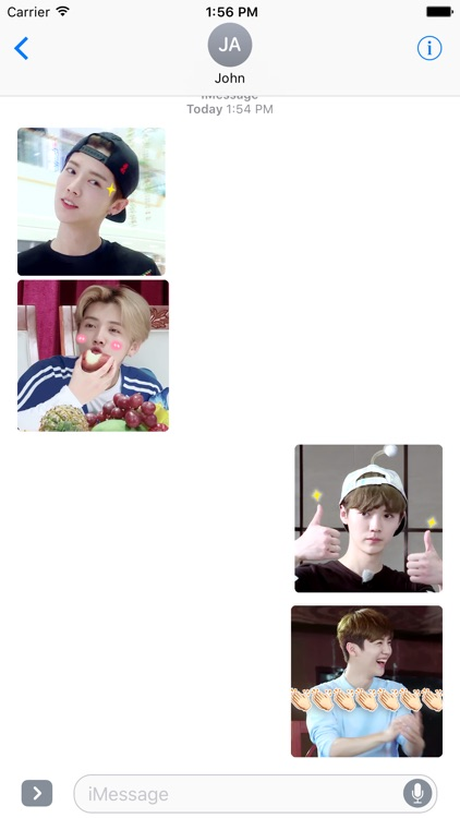 LU HAN Stickers