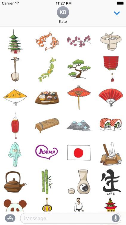 Asia Stickers screenshot-4
