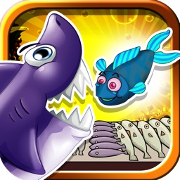A Hungry Fishing Flick Mania FREE - A Shark's Feeding Frenzy Game