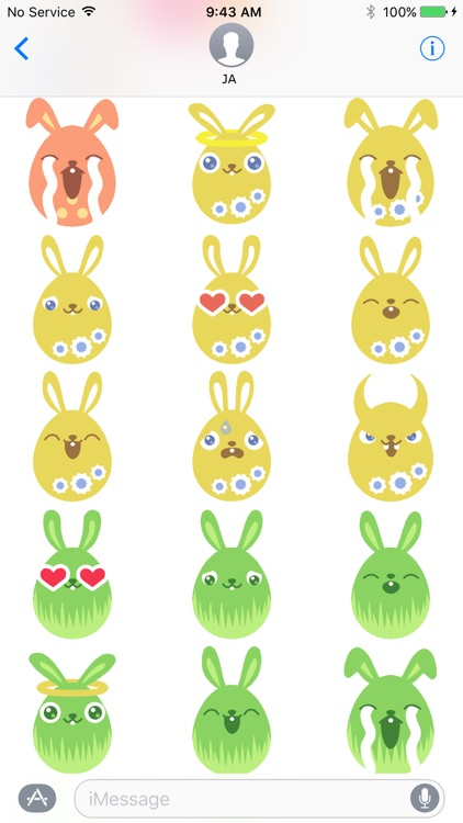 Rabbit Animation Sticker screenshot-3
